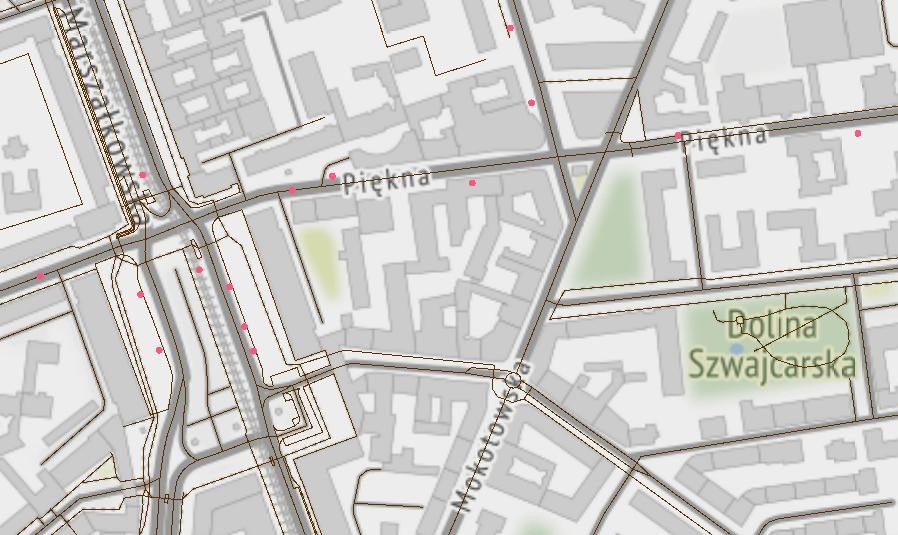 Użycie buforów do analiz przestrzennych6