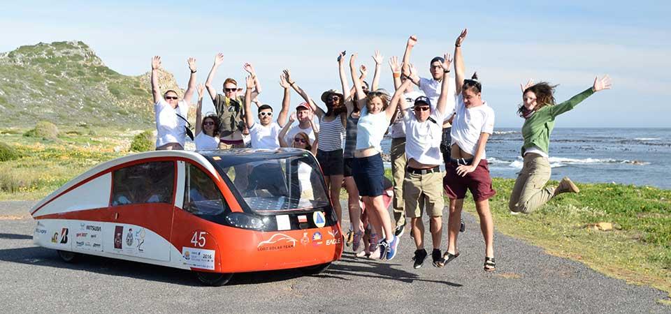 Globema solar car
