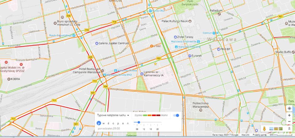 Zarządzania pracą w terenie z Google Maps