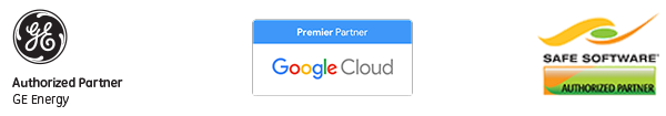 Google partner, GE partner, Safe Software Partner