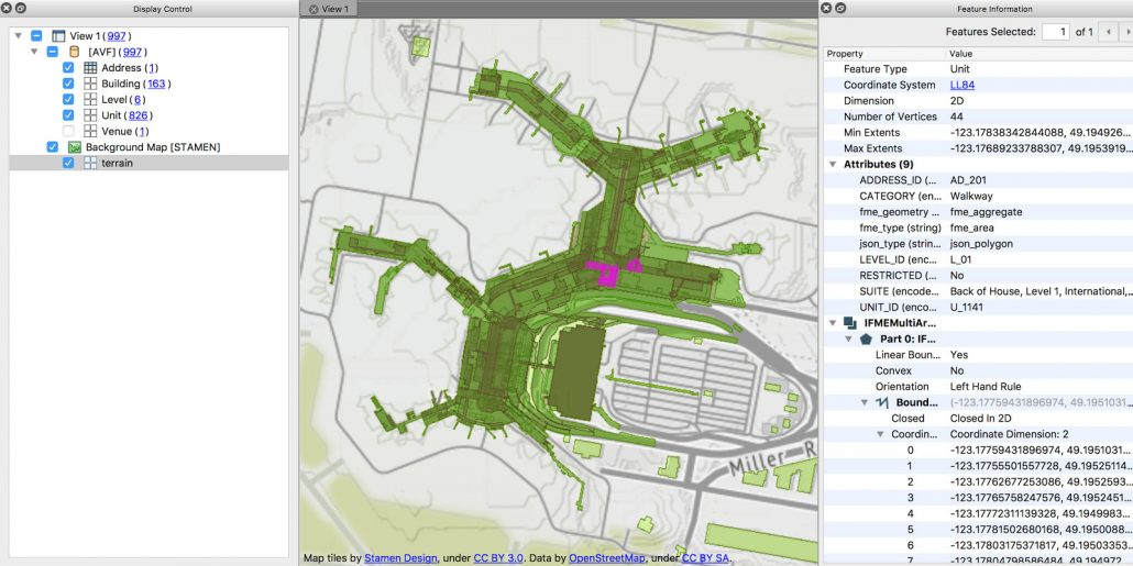 FME indoor mapping