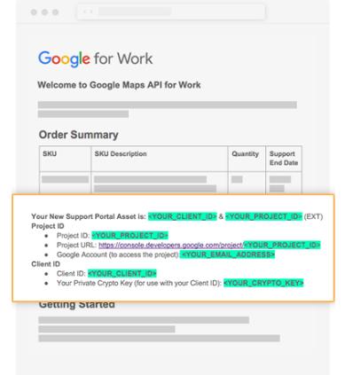 Google Maps Premium Plan implementation