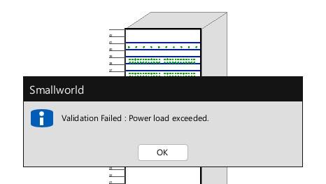 DCM Power warning