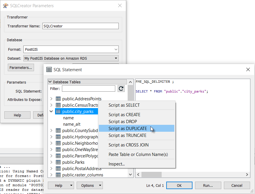 SQL-Creator