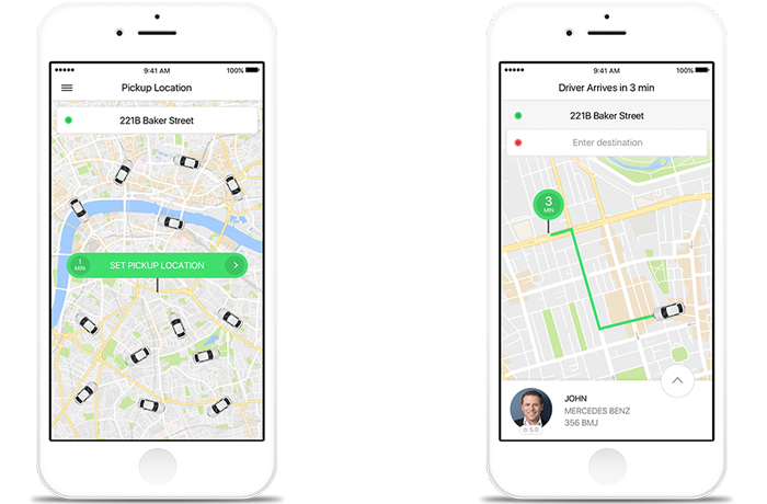 Taxify grows with Google Maps